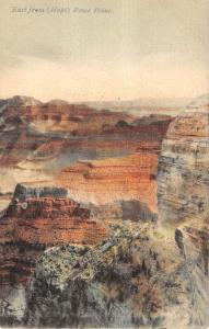 Grand Canyon Arizona East From Hopi Point Rowe Antique Postcard K19680