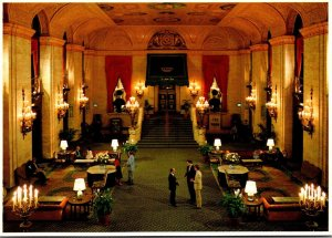 Illinois Chicago Palmer House and Towers Lobby