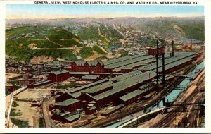 Pennsylvania Pittsburgh General View Westinghouse Electric & Manufacturing Co...