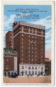 New York, Hotel Bristol