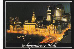 Pennsylvania Philadelphia Indpendence Hall At Night