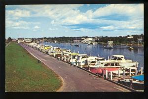 Falmouth, Massachusetts/MA/Mass Postcard, Falmouth Marina, Cape Cod
