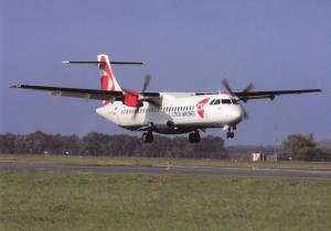 Czech Airlines, ATR-72-500, unused Postcard