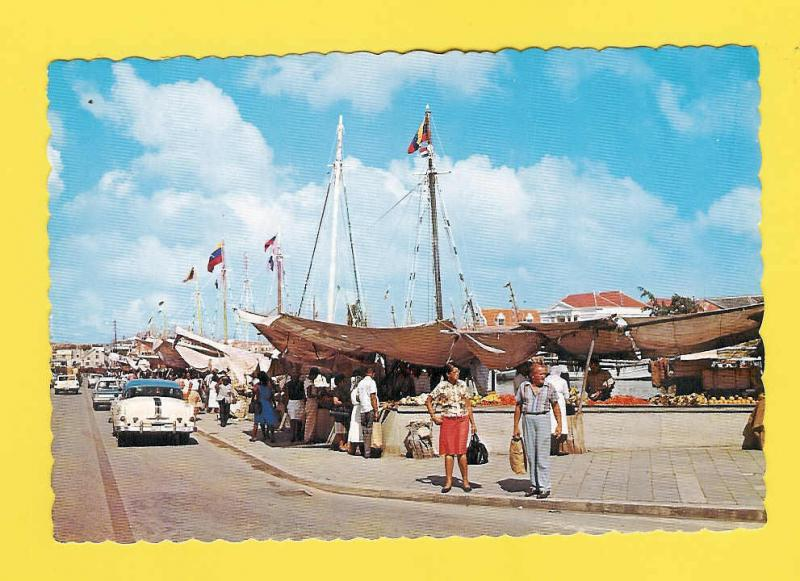 PC POSTCARD Netherlands Antilles 1960s CURACAO