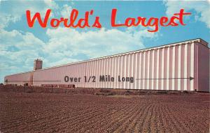B73350 Kansas world largest grain elevators USA