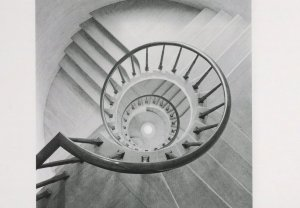Criminal Court Old Baileys 1970s Staircase Photo Award Postcard