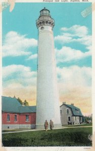 ALPENA , Michigan , 1939 ; Presque Isle LIGHTHOUSE