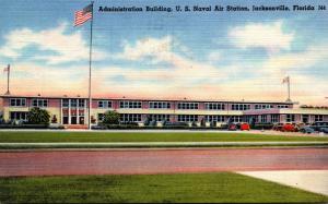 Florida Jacksonville Administration Building U S Naval Air Station 1956