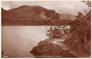 The Winding Road by Loch Maree General view
