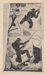 NEW YORK; World's Fair of 1940, Fishing by Domenico Mortellito, Hall of Sports