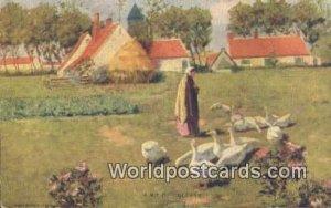 Holland Netherlands Writing on back