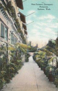 SPOKANE, Washington , 1900-10s ; Main Entrance, Davenport's Restaurant