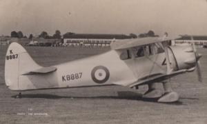RAF Queen Wasp Military Aircraft WW2 Plane Vintage Plain Back Postcard Old Photo
