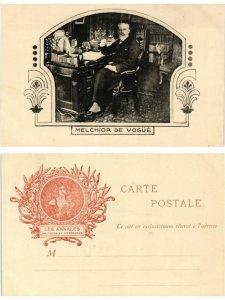 CPA AK MELCHIOR DE VOGUE WRITER (500263)