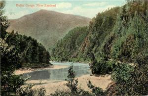 Vintage 1907-1915 Postcard; Buller Gorge, Murchison New Zealand, Unposted