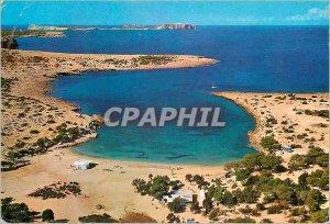 Postcard Modern Ibiza Baleares Espana San Antonio Vista aereas