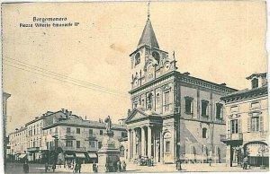 27568  CARTOLINA d'Epoca NOVARA provincia : Borgomanero 1915