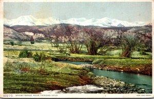 Colorado Snowy Range Near Trinidad Fred Harvey Detroit Publishing