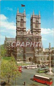 Postcard Modern London Westminster Abbey
