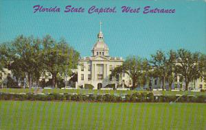 West Entrance State Capitol Building Tallahassee Florida