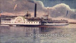 Steamer Horicon, Lake George, New York, NY USA Steam Ship Postcard Post Cards...