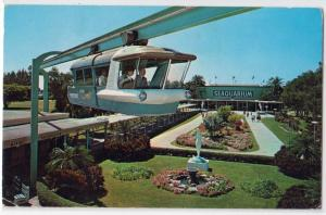 Seaquarium Space Rail, Miami Fl