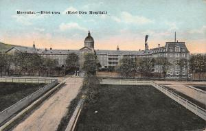 Hotel Dieu Hospital, Montreal, Quebec, Canada, Early Postcard, unused