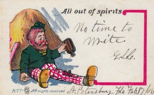 All out of spirits , 1906