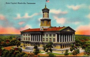 Tennessee Nashville State Capitol Building 1948