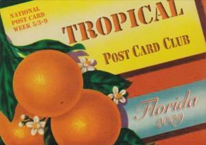 National Post Card Week 2009 Tropical Post Card Club Pompano Beach Florida