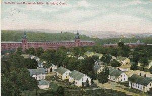 NORWICH, Connecticut, 1908 ; Taftville & Ponemah Mills