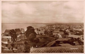 Ghana Gold Coast Sekondi panorama real photo Postcard