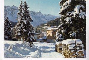 AROSA, 1800 m, Elzhorn, Rothorn, 1976 used Postcard