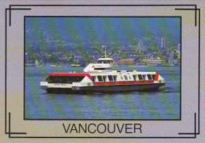 Canada The Sea Bus Ferry Vancouver