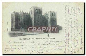 Postcard Old Marseille Abbaye Saint Victor