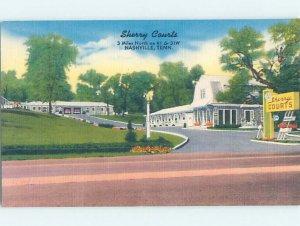 Linen MOTEL SCENE Nashville Tennessee TN AD9846