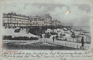 Eastbourne London, England Hold to Light 1903 writing on front