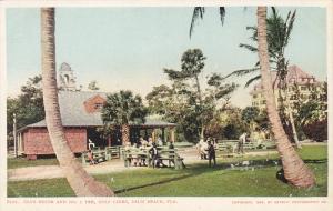 Golf Course , Club House & No1 Tee , Golf Links , PALM BEACH , Florida , 1904