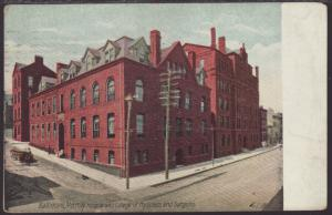 City Hospital and College of Physicians,Baltimore,MD