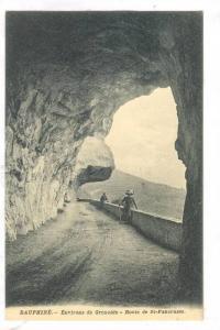 Dauphiné, Environs de Grenoble.-Route de St-Pancrasse, France, 00-10s