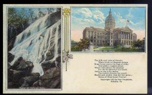 Tallulah Falls & State Capitol GA unused 1913