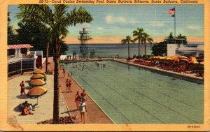 California Santa Barbara The Santa Barbara Biltmore Coral Casino Swimming Poo...