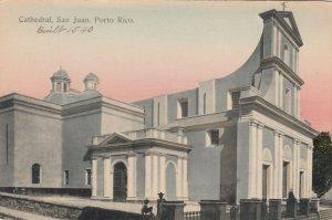 San Juan , PUERTO RICO, 1900-10s ; Cathedral