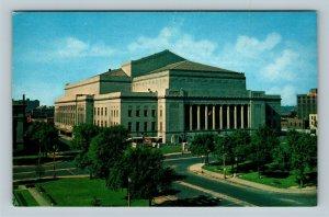 St Louis MO, Henry W Kiel Municipal Auditorium, Chrome Missouri Postcard