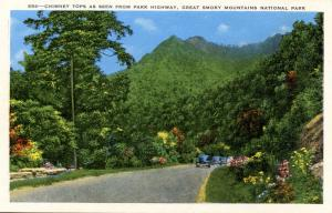 NC/TN - Great Smoky Mountains National Park. Chimney Tops