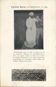 Ghost Photograph, Librairie Spirite, Le Courrier Spirits Belge (1910s) X