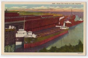 Giant Ore Docks, Lake Superior MN