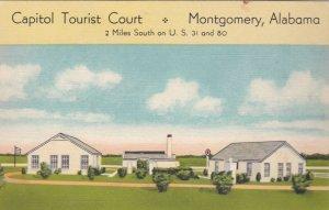 Alabama Montgomery Capitol Tourist Court U S Highway 31 sk2839