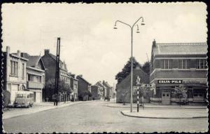 belgium, HOVE, Bouchoutsesteenweg, Café (1956)