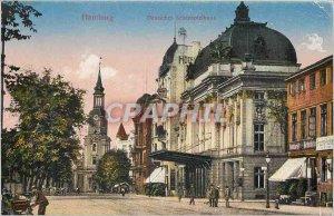 Old Postcard Hamburg Deutsche Schauspielhaus